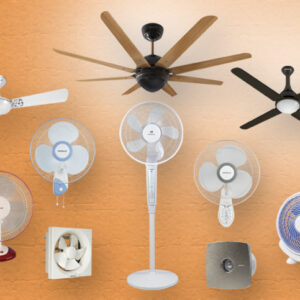 Fan (Attic, Ceiling, Fan heater, Window)