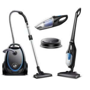 Vacuum cleaner (Central, Manual, Robotic)